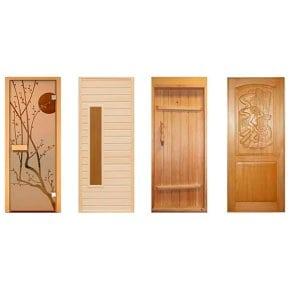 Двери из липы