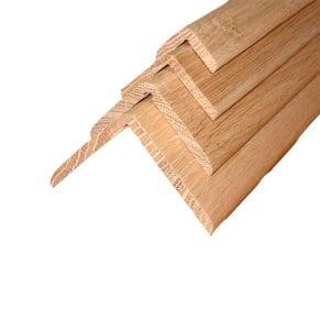 Уголки из ольхи деревянные