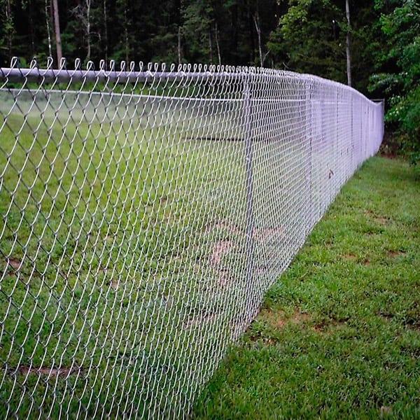 Забор из сетки