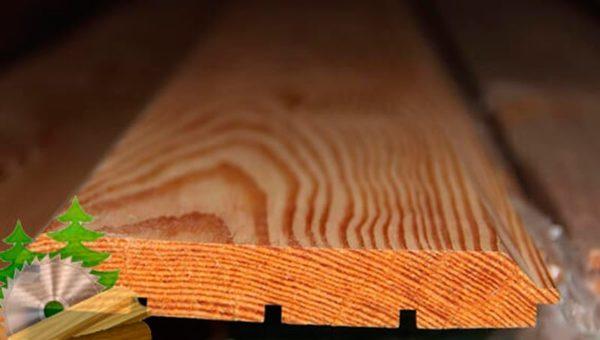 Имитация бруса из лиственницы A