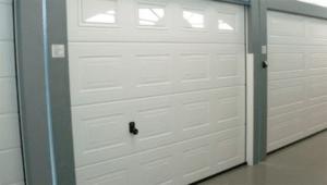 Секционные ворота из металла различной фактуры, цвета и длины