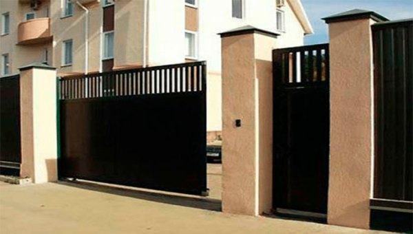 Ворота под ключ