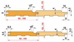 Основные отличия Евровагонки от вагонки Штиль